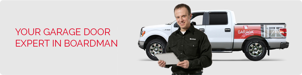 Your garage door expert in Boardman