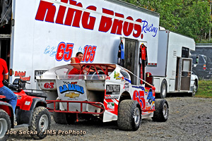 KING BROS. RACING and big block modified.