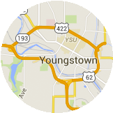 Map Youngstown